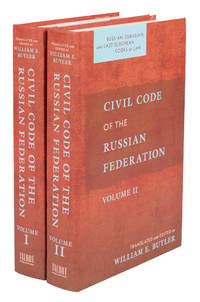 image of Civil Code of the Russian Federation. 2 volumes. 2021