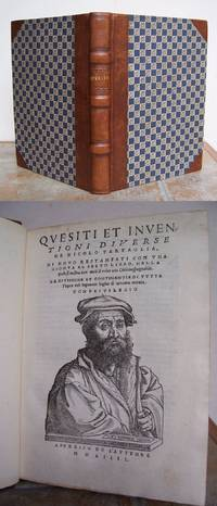 QUESITI ET INVENTIONI DIVERSE de Nicolo Tartaglia, di novo restampati con una gionta al sesto libro, nella quale si mostra duoi modi di redur una citta inespugnabile.
