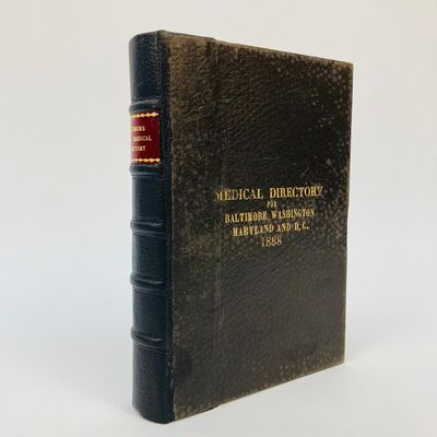 Baltimore, MD: R. L. Polk & Co, 1888. First Edition. Hardcover. small 8vo., xii, 414pp.; G+; spine p...