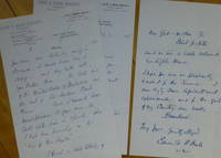 """image of Two Autograph Letters Signed, to """"Dear Miss Dodge"""""""