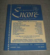image of The magazine Encore for January 1943