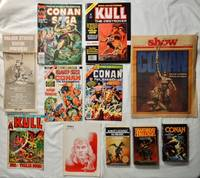 Lot of Conan the Barbarian & Kull the Destroyer Books, Comics, Ephemera