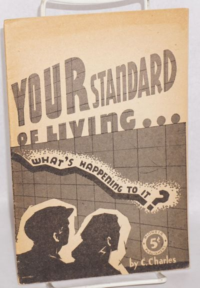 New York: Printed for the Socialist Workers Party by Pioneer Publishers, 1943. 30p., wraps, paper br...