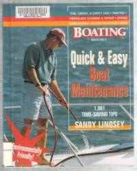 QUICK AND EASY BOAT MAINTENANCE  1,001 Time-Saving Tips
