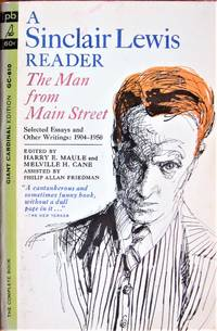 image of The Man From Main Street. A Sinclair Lewis Reader