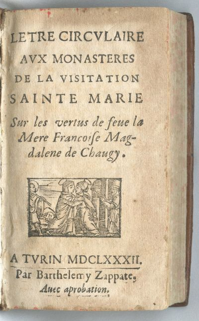 Letre [sic] Circvlaire Avx Monasteres...
