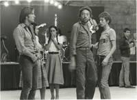 image of Je t'aime moi non plus [I Love You, I Don't] (Original photograph of Jane Birkin, Joe Dallesandro, and Serge Gainsbourg on the set of the 1976 film)
