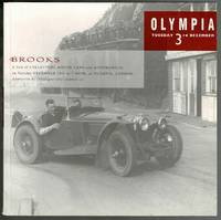 image of A Sale of Collectors Motor Cars & Automobilia: Olympia Auction Catalogue December 3rd 1991