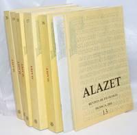 Alazet: revista de filología [seven issues]