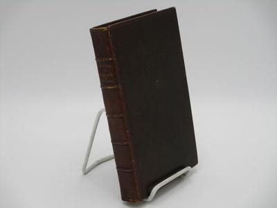 Lipsiae. : Gerhardum Fleischerum. , 1802. 19th century full brown morocco, raised bands, gilt spine ...