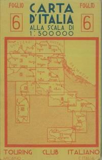 Carta d\'Italia alla scala di 1 : 500.000. Foglio 6, 7, 8.