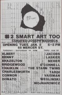 #2 Smart Art Too (Art Poster designed by David Wojnarowicz)