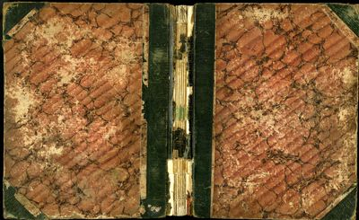 Richmond (England), 1856. Hardcover (Quarter Leather). Very Good Condition. Leather backed marbled b...