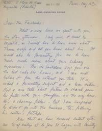 Autograph Letter Signed (Julia Child), to Mrs. Fairbanks