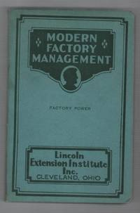 Modern Pactory Management: Factory Power