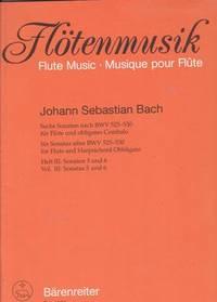 BACH - Sonatas Vol.3: nº 5 y 6 para Flauta y Piano (Kirchner)