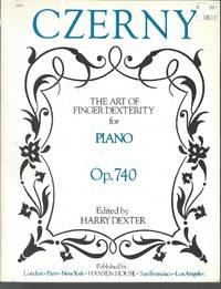 Czerny The Art of Finger Dexterity for Piano Complete Op.740