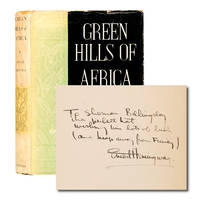 image of Green Hills of Africa (Inscribed first edition)