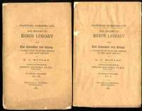 HISTORY OF MANON LESCAUT AND THE CHEVALIERDES GRIEUR IN THREE VOLUMES  [VOLS I & III ONLY] by D C Moylan; edited by Edmund Goldsmid - Paperback - 1886 - from poor mans books and Biblio.com