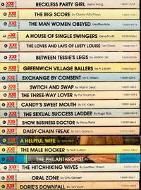 XXE Editions (20 adult paperbacks)