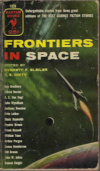 """image of FRONTIERS IN SPACE )Selections from """"The Best Science-Fiction Stories - 1951, 1952, and 1953)"""