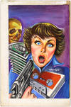 View Image 13 of 127 for Archive of Original Mexican Pulp Cover Art Gouaches and Corresponding Mini-Comics Inventory #25408