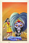 View Image 21 of 127 for Archive of Original Mexican Pulp Cover Art Gouaches and Corresponding Mini-Comics Inventory #25408