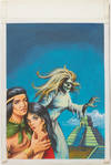 View Image 44 of 127 for Archive of Original Mexican Pulp Cover Art Gouaches and Corresponding Mini-Comics Inventory #25408