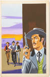 View Image 45 of 127 for Archive of Original Mexican Pulp Cover Art Gouaches and Corresponding Mini-Comics Inventory #25408