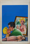 View Image 55 of 127 for Archive of Original Mexican Pulp Cover Art Gouaches and Corresponding Mini-Comics Inventory #25408