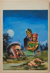 View Image 71 of 127 for Archive of Original Mexican Pulp Cover Art Gouaches and Corresponding Mini-Comics Inventory #25408
