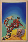 View Image 77 of 127 for Archive of Original Mexican Pulp Cover Art Gouaches and Corresponding Mini-Comics Inventory #25408