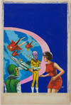View Image 88 of 127 for Archive of Original Mexican Pulp Cover Art Gouaches and Corresponding Mini-Comics Inventory #25408
