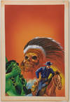 View Image 94 of 127 for Archive of Original Mexican Pulp Cover Art Gouaches and Corresponding Mini-Comics Inventory #25408