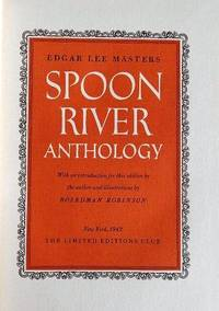 image of SPOON RIVER ANTHOLOGY