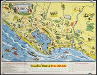 "Durban South Africa ""Chuckle"" Map and Guide."