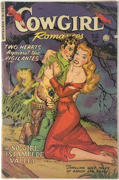 New York: Love Romances Publishing Co. (Fiction House), 1952. Softcover. VG; Covers have creasing an...
