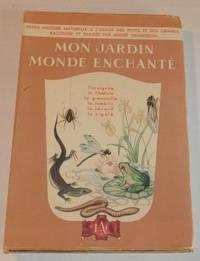 image of MON JARDIN, MONDE ENCHANTE. Tome II [complete in itself]: L'Araignee, La Libellule, La Grenouille, Le Lombric, Le Lezard, La Cigale.