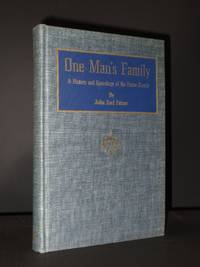 One Man's Family: A History and Genealogy of the Fetzer Family