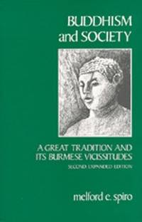 image of Buddhism and Society: A Great Tradition and Its Burmese Vicissitudes