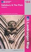 Salisbury and the Plain, Amesbury (Landranger Maps) 184 (OS Landranger Map) by Ordnance Survey - 2005-04-01 - from Books Express and Biblio.com