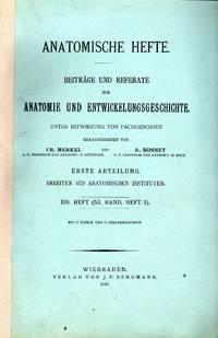 Die DispersitŠt der Farbstoffe, ihre beziehungen zu ausscheidung und speicherung in der niere. In 8vo, offp., pp.  242 + figs 56 +  4 pls. . Offprint from Anatomische Hefte, 159