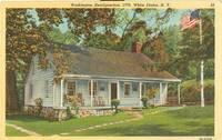 Washington Headquarters White Plains, New York 1948 used Postcard