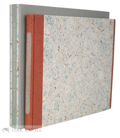 Petersham, MA: The Lone Oak Press, 2005. half leather, marbled paper-covered boards, leather spine l...