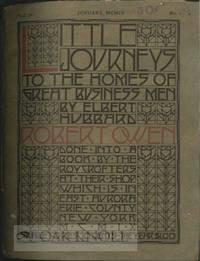 East Aurora: The Roycrofters, 1909. stiff paper wrappers, cord-tied. Hunter, Dard. square 8vo. stiff...