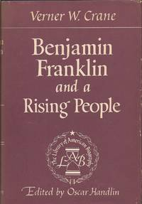 image of Benjamin Franklin and a Rising People (The Library of American Biography)