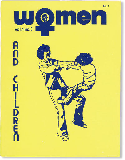 Baltimore: Women: A Journal of Liberation, 1976. First Edition. Quarto (27.75cm); illustrated card w...