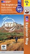 image of The English Lakes - South Western Area (OS Explorer Map Active)