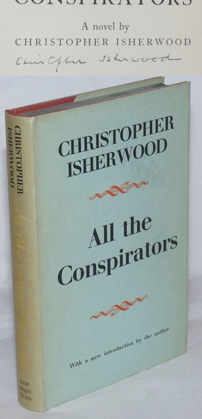 New York: New Directions Books, 1958. Hardcover. 255p., signed by the author on the title page, very...