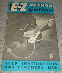 image of E Z Method for Guitar Self Instruction and Teachers Use